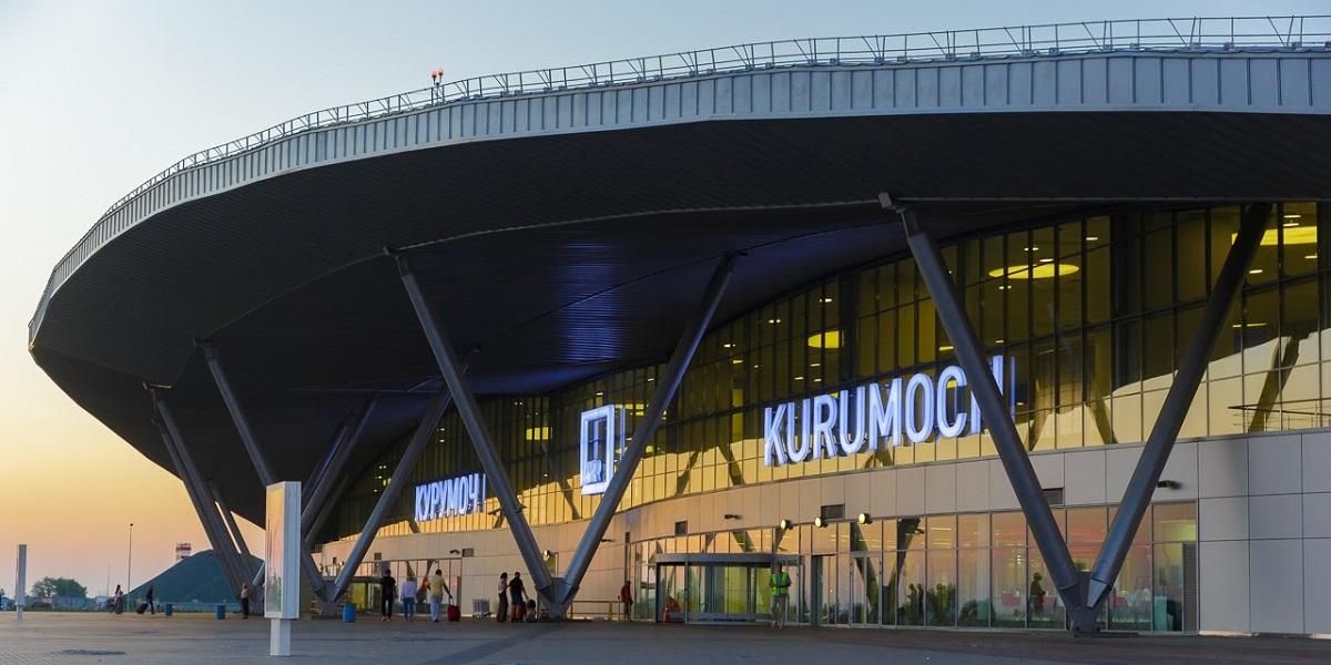SAMARA INTERNATIONAL AIRPORT Departure hall