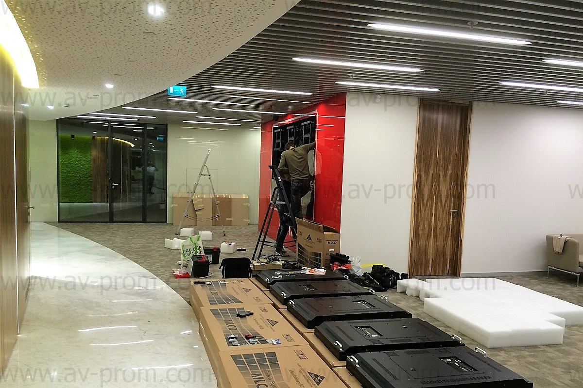 """BUSINESS CENTER """"CENTRAL CITY TOWER"""" - Audio-video complex"""