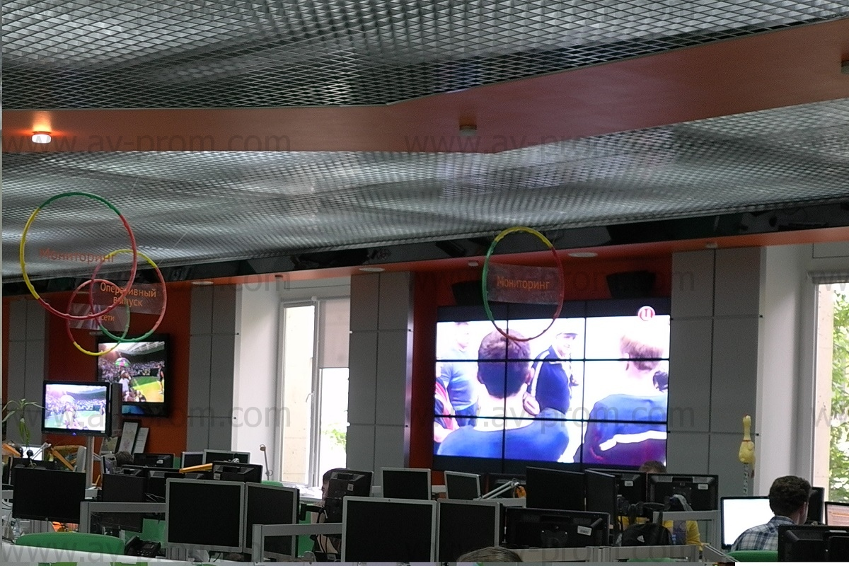 RIA NOVOSTI R-SPORT AGENCY - Studio Videowall