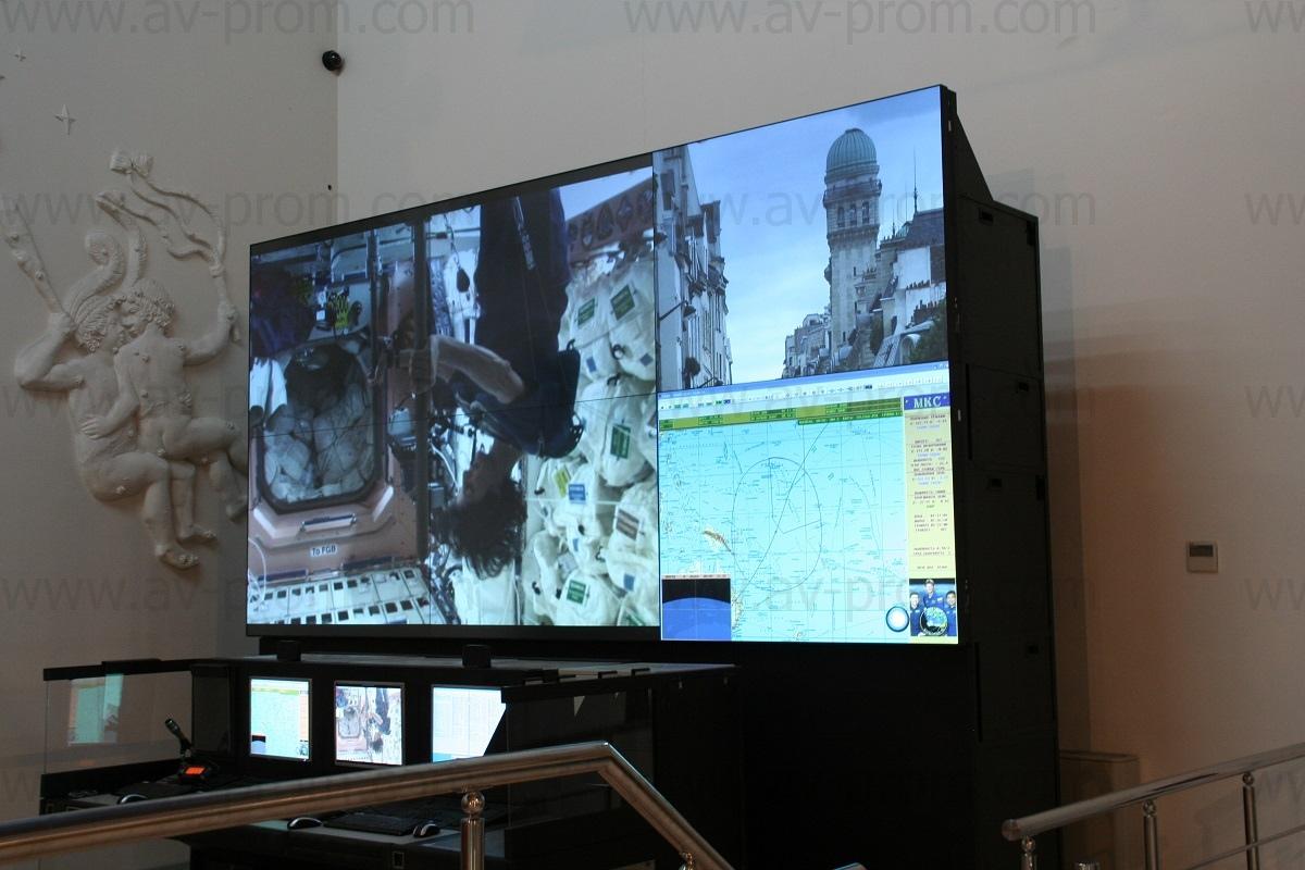 videowalls atMUSEUM OF COSMONAUTICS