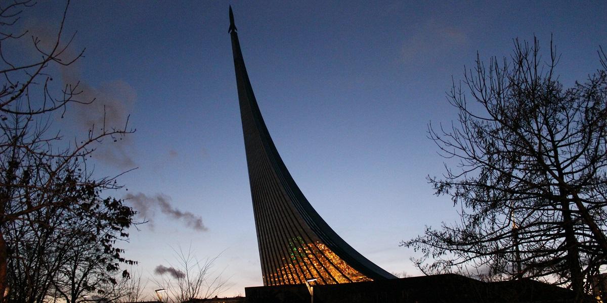 Museum of Cosmonautics videowall