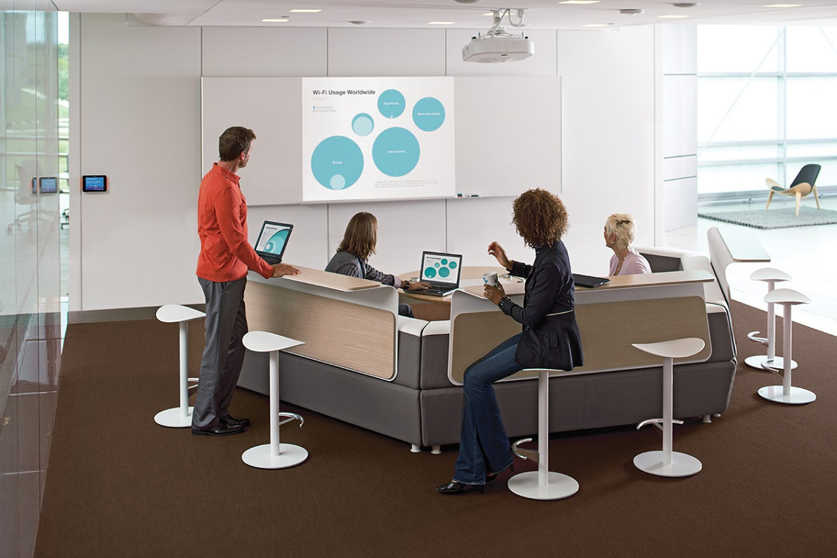 COLLABORATION & MEETING ROOMS SOLUTION BY AV PROM