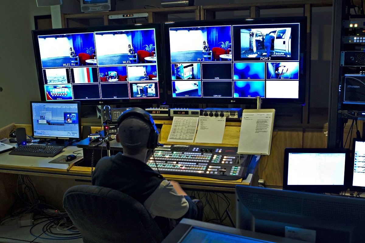 control room solutions by AV PROM