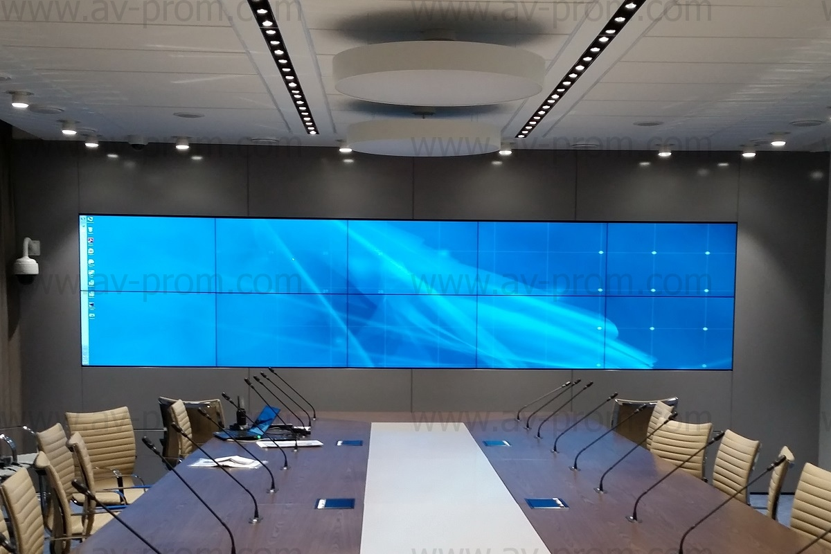 ROSATOM OVERSEAS Moscow Office - conference hall & meeting room