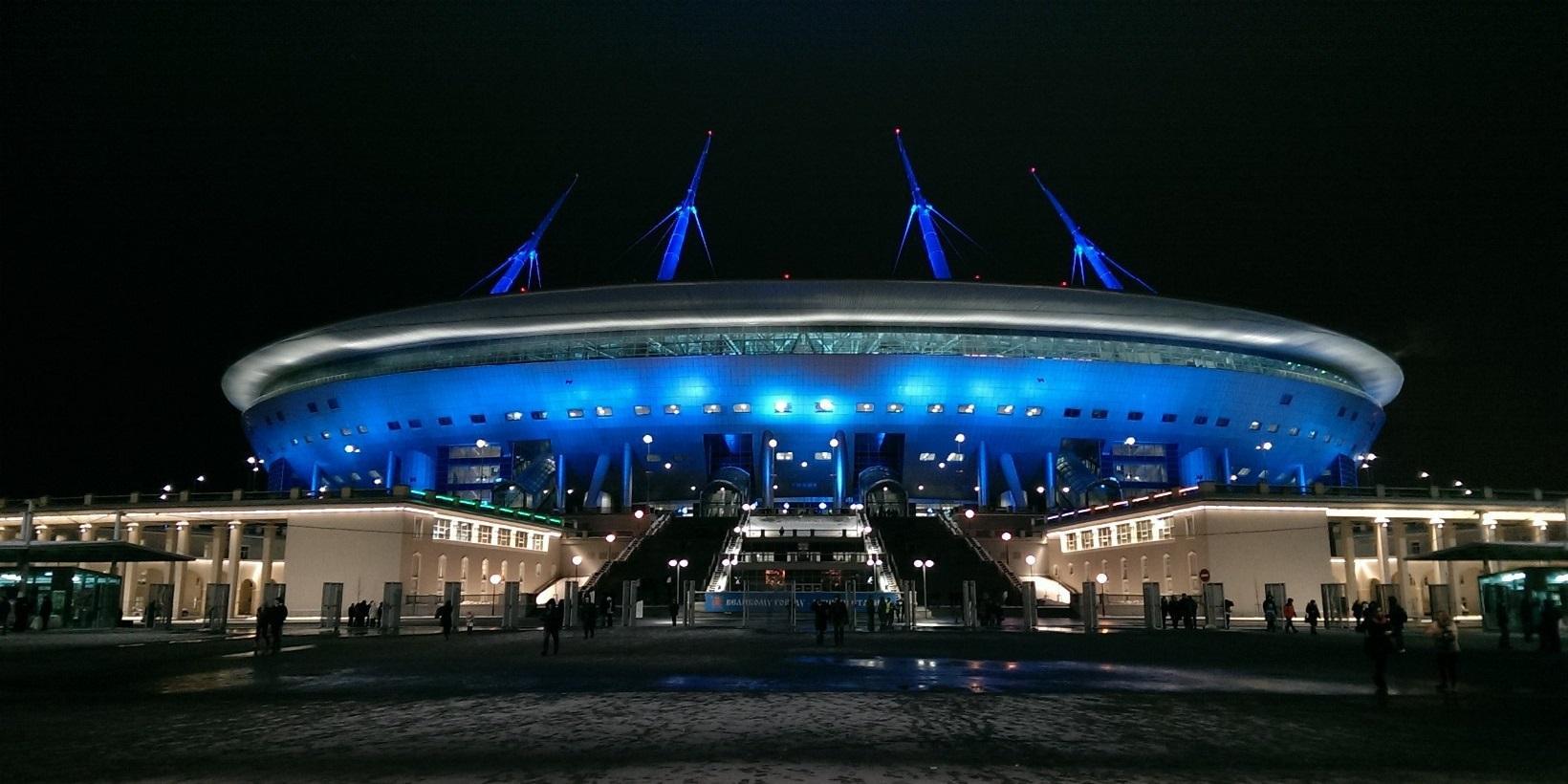 Zenit-arena control rooms videowalls